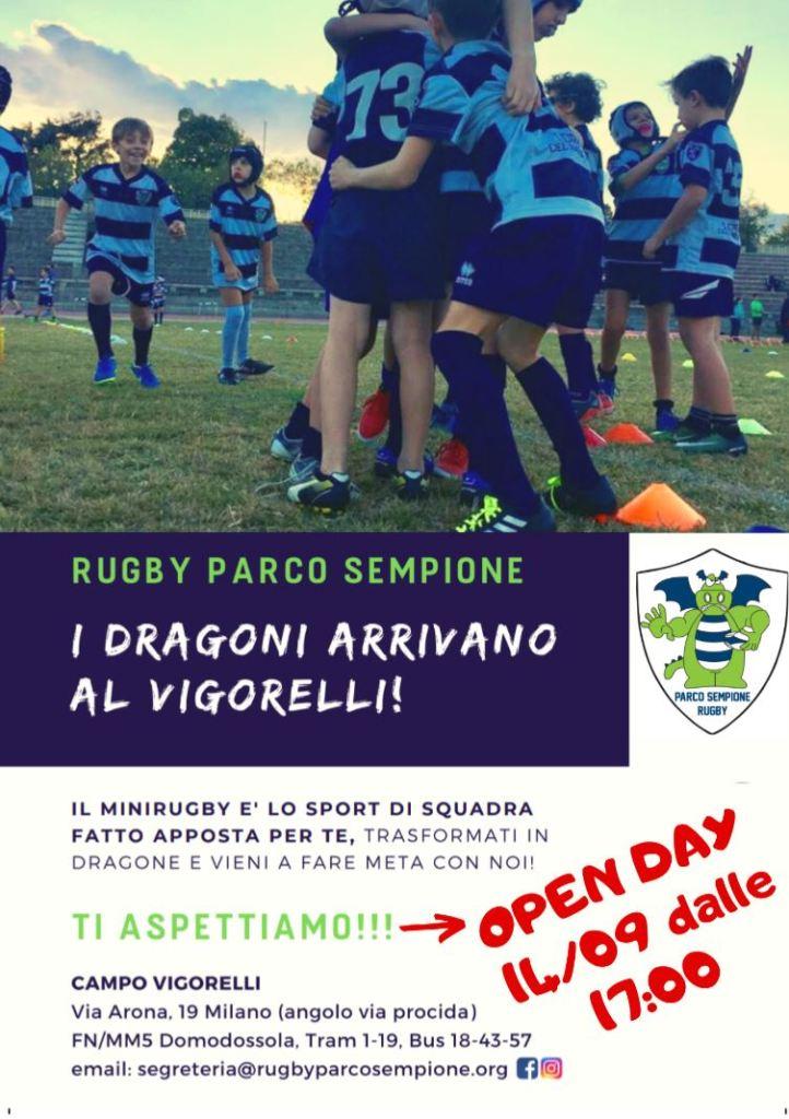 Calendario Tornei Minirugby 2020.Rugby Parco Sempione